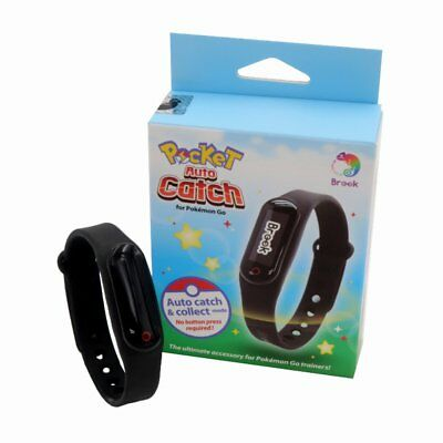 Pokemon Go Bluetooth Bracelet WristBand by Brook Pocket Auto Catch Android IOS