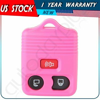 For 2010 2011 2012 2013 2014 2015 2016 Ford Expedition Key Fob Case Shell Pink