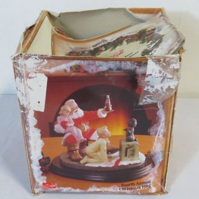 Royal Orleans Coca-Cola Limited Edition Figurine: The Classic Santa Claus 1986