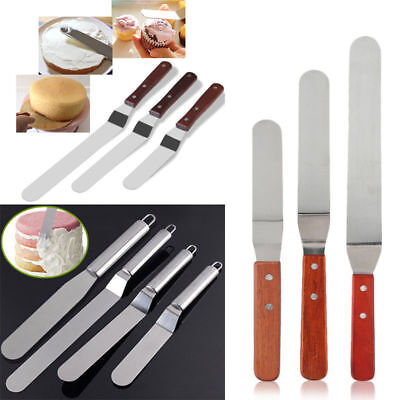 Flexible Cake Cream Butter Spatula Mixing Batter Scraper Silicone Baking Tool
