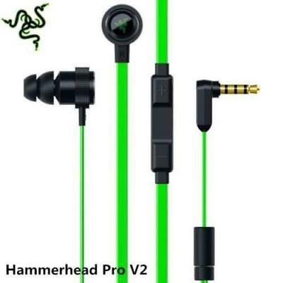 Razer Hammerhead Pro V2 In-Ear PC Music Game Headset headphone earphone with Mic