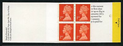 Great Britain 2065AI-C 1995 Isabel II License bloc of 4 stamps no 2065A de luxe