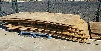 MDF SHEETS 18mm - (good Condition) 1200 x 3600
