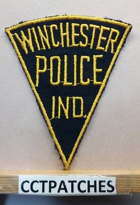 Vintage Winchester, Indiana Police Shoulder Patch In