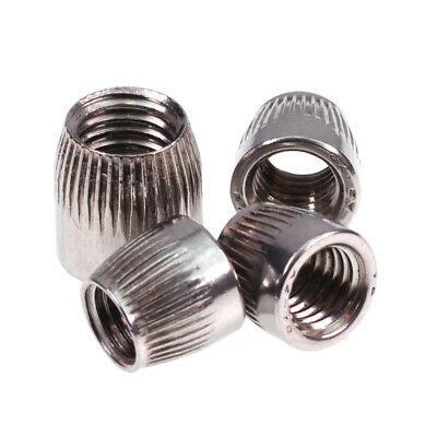 M6 8 10 12 Female Thread Stainless Steel Conical Cap Tapered Cone Nut 10/20pcs
