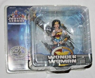 RARE NEW DC Comics Justice League Wonder Woman Action Figure Statue Paperweight