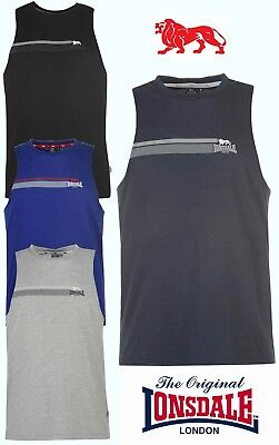 T-Shirt Tank Top Lonsdale Man Boxing Muscle Collection 2018 S To Xxxl