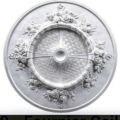 Victorian Plaster Ceiling Rose 650mm free delivery to Hp100pf