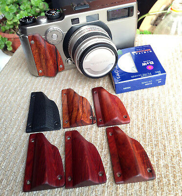 Handmade High-End Natural Wood Hand Grip for Hasselblad Xpan II Fuji TX-1 TX-2