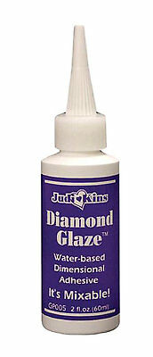 Diamond Glaze Judikins 60ml Dimensional Clear Adhesive 2oz Ships from AUSTRALIA