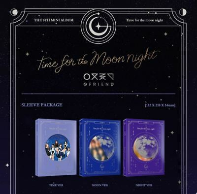 GFRIEND TIME FOR THE MOON NIGHT - 6th Mini Album CD + Booklet