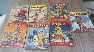 cowboy picture library comic books .
