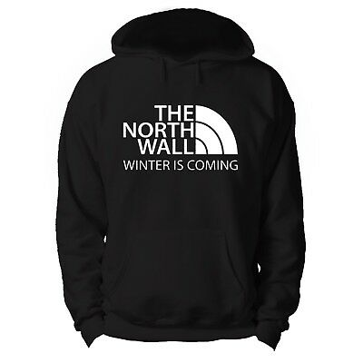 The North Wall Winter Is Coming Game Of Thrones  Hoodie **Various Colours**