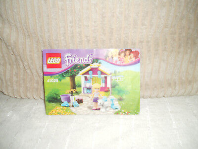 LEGO FRIENDS 41123 Foal's Washing Station Instructions Manual Only ...