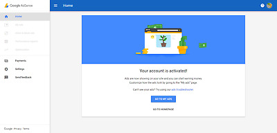 google adsense Morocco non hosted account for website with approved domain