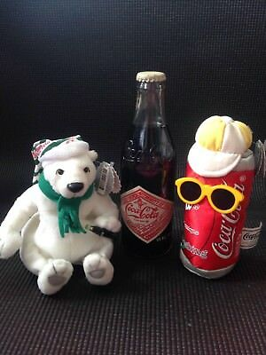 Coca Cola Collectable Bottle And Toys Lot