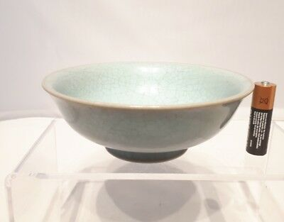 Nice 19th/20thc Chinese Antique RU Ware Song Dynasty Crackle Ware Bowl Qing