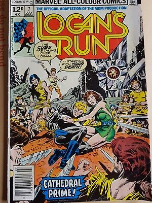 Logan's Run #7 Marvel Comics July 1977