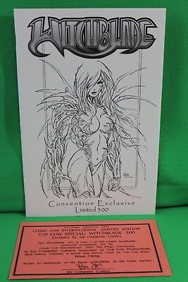 Witchblade #52 Exclusive Jay Company Variant Limited Comic Image Comics VF