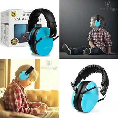Ear Defenders for Kids Toddlers Children Hearing Protection Folding Earmuffs NEW