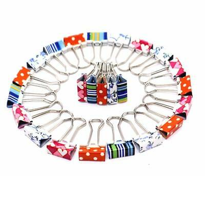 Universal Large Office Home File Paper Organizer Metal Binder Clips Clamps 24pcs
