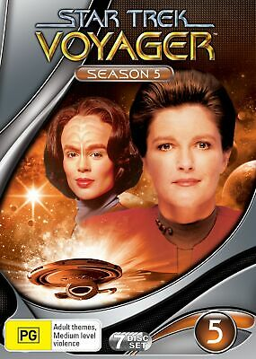 Star Trek Voyager Season 5 DVD Region 4 NEW