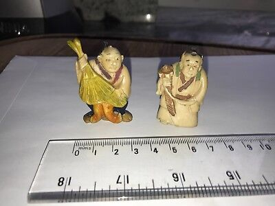 Two Japanese netsuke