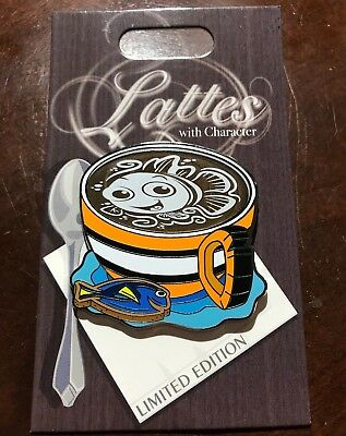 Disney Lattes With Character Finding Nemo Pin Of The Month LE 3000 Coffee Latte