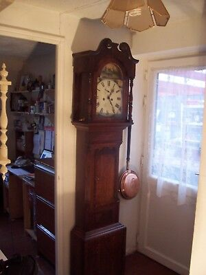 antique grandfather clock  8 day IMPORTANT NOTICE ON LISTING