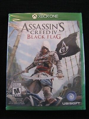 Assassin's Creed IV: Black Flag (Microsoft Xbox One) New!