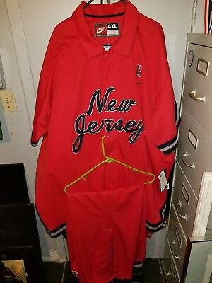 new jersey nets 80s warmup