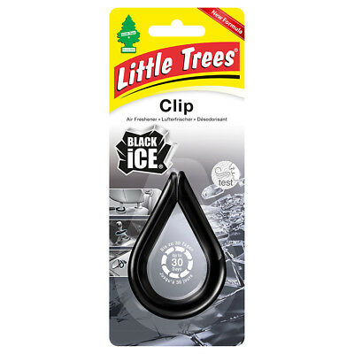 "Magic Tree ""little Tree"" Air Freshener Clip Black Ice Fragrance"
