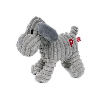 Little Petface Freddi Cord Squeaker Dog Puppy Toy