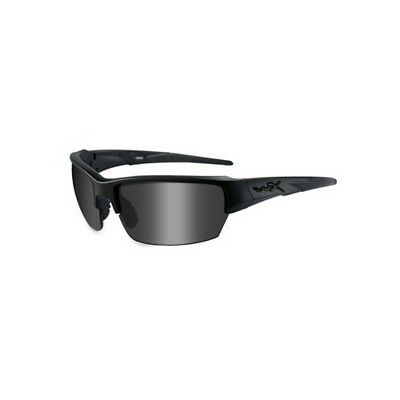 Wiley X WXCHSAI08 Saint Sunglasses Matte Black Frame Smoke Gray Lens