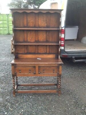Old Antique Dresser With Barley Twist Legs