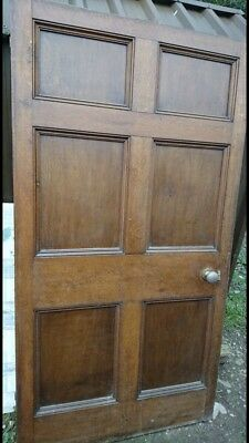 Antique Oak Internal Door