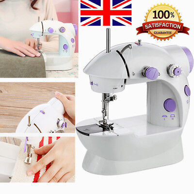 Electric Mini Sewing Machine 2 Speed Foot Pedal Portable Handheld Sewing Kit