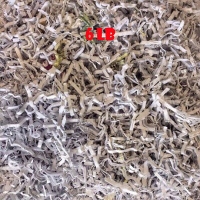 Cut Shredded paper 6 pound Packing and Craft material 100% recycled materials