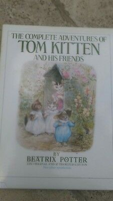 the complete adventures of tom kitten and his friends  book