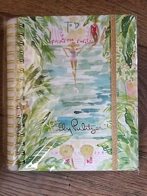 NEW Lilly Pulitzer To Do Planner TO DO TOILE Undated Mother's Day Gift