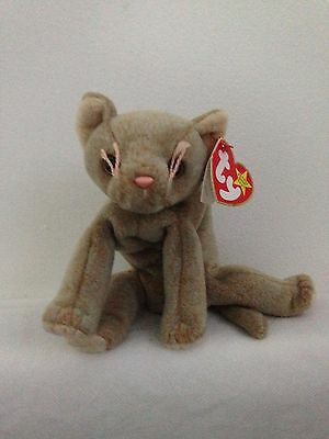 b3e7485cf32 TY BEANIE BABIES - Scat The Cat With Gasport and Tag Errors - £14.99 ...