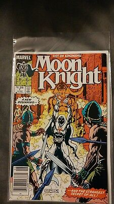 Moon Knight: Fist of Khonshu 1 (of 6) Limited Series.
