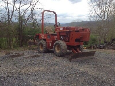 Ditch Witch Ride On Trencher, Model 3700