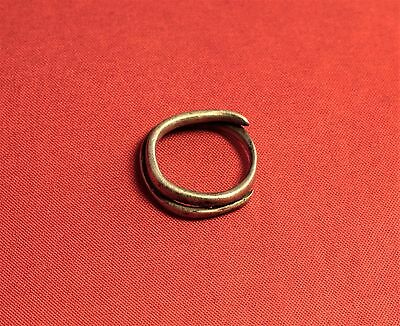 Fine Ancient Celtic Silver Finger Ring