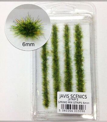 "Javis Countryside scenic's ""00"" & ""N Spring Mix Strips 6mm JSTRIP5"