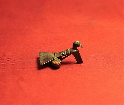 Ancient Roman  Bird Fibula or Brooch, 2. Century - Zoomorph!