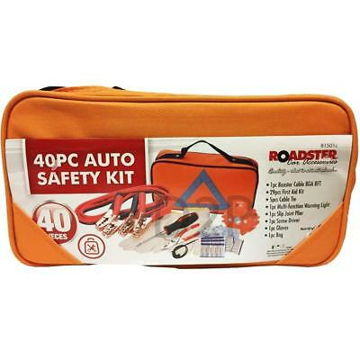 40Pc Auto Safety Kit Breakdown Emergency Safety Tools Set Roadster
