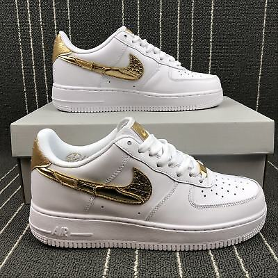 NUOVO Nike Air Force 1 CR7 GOLDEN Patchwork Men's shoes AQ0666100 EU 3641