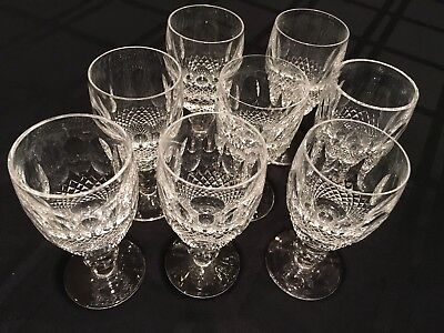 "VINTAGE WATERFORD CRYSTAL ""COLLEEN"" Sherry Glasses-Sold separately"