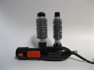 "Revlon RV444C Hot Air Brush Styler and Dryer with Ceramic  1"" and 1 1/2"""